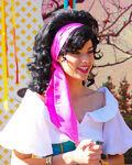 Esmeralda Disneyland Cloe Up
