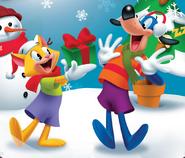 Flippy Christmas Poster