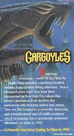 Gargoyles the Movie - 1995 Promotional Print Ad Poster - Back