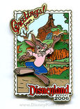 Greetings From Disneyland Pin