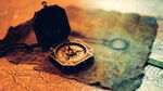 Jack's Compass and Portrait of Key