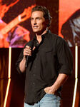Matthew McConaughey speaks at American Country Showdown