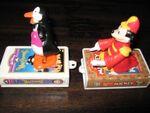 Mickey Penguin Waiter McDonalds Toy