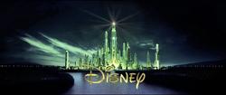 Oz Great Powerful - trailer logo