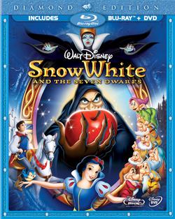 Snow White and the Seven Dwarfs Diamond Edition Blu ray