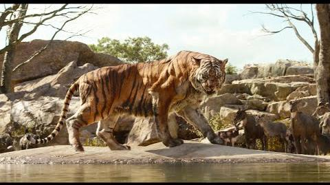 "The Jungle Book clip ""Intro to Shere Khan"""