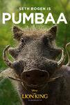 The Lion King (2019) - Pumbaa