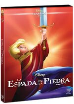 The Sword in the Stone DVD México