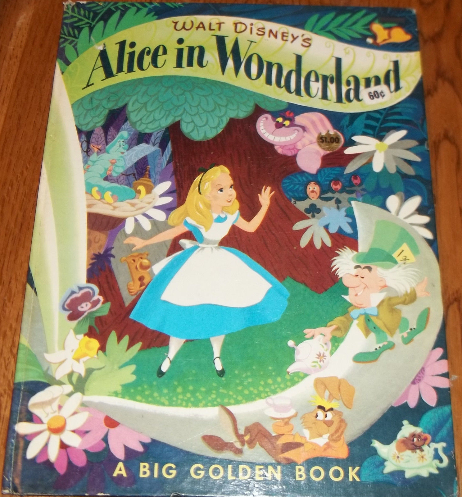alice in wonderland big golden book disney wiki fandom