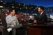 Andy Samberg visits JKL