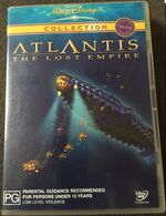 Atlantis- The Lost Empire 2002 AUS 2 Disc DVD Second