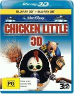 Chicken Little 2011 AUS Blu Ray 3D