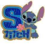 DisneyStore.com - Initial Letter Series (Stitch)