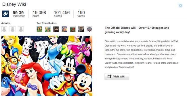Disney Wiki Promotion Update.