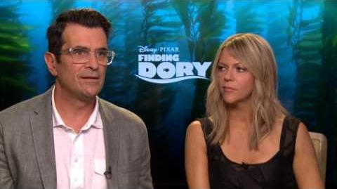 Finding Dory Interview - Ty Burrell & Kaitlin Olson