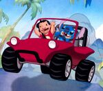 Lilo & Stitch The Series - Duo in X-Buggy