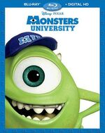 Monsters University Blu-ray Rerelease