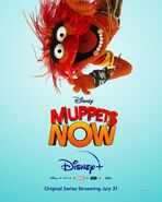 Muppets Now poster Disney+