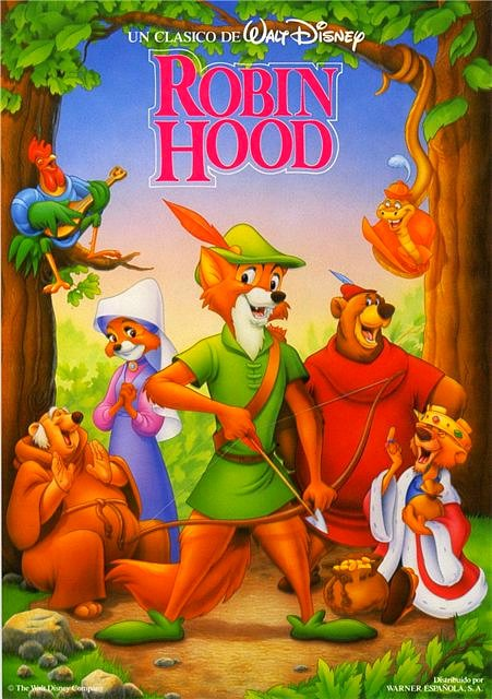 Image robin hood poster g disney wiki fandom
