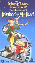 The Adventures Of Ichabod And Mr Toad (2000 UK VHS)