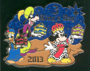 2013 Three Kings Day Pin