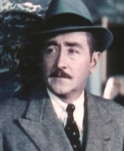 Adolphe Menjou in A Star is Born