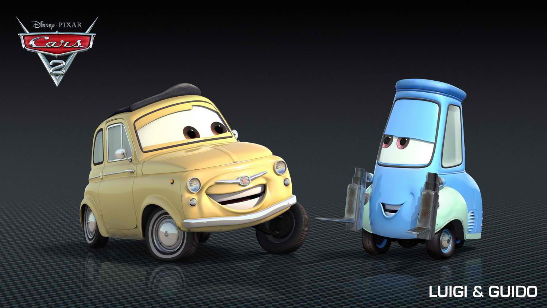 Image - Cars-2-luigi-guido.jpg | Disney Wiki | FANDOM ...