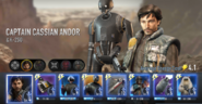 Cassian Andor and K-2SO Force Arena
