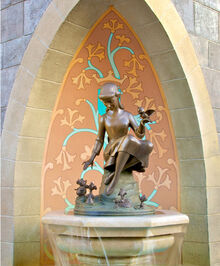 Cinderella Fountain Magic Kingdom