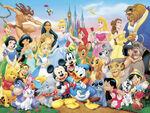 Disney characters wallpaper 2