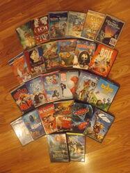 Geoff109 Disney Movie DVDs 1