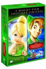 Peter Pan Tinker Bell 2 Movie Pack Italy