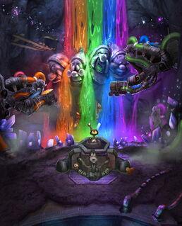 Rainbow Falls concept