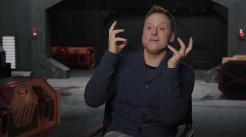 "Rogue One ""K-2SO"" On Set Interview - Alan Tudyk"
