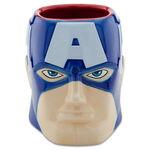 Sculptured Captain America Mug