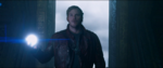 Starlord holding light