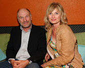 Ted Levine & wife Kim Phillips Tribeca Reception