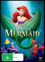 The Little Mermaid 2013 AUS DVD