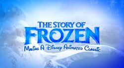 The Story of Frozen Logo
