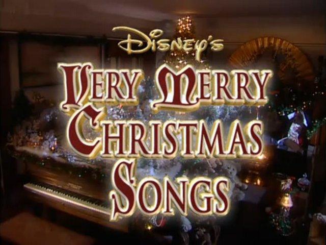 disney sing along songs very merry christmas songs - On This Night On This Very Christmas Night