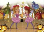 Amber and Sofia as ballerinas