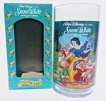 Burger King Snow White Plastic Cup with Box