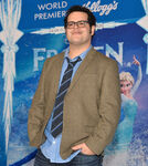 Josh Gad Frozen premiere