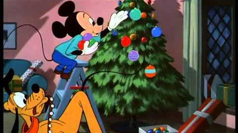L'albero di Natale di Pluto