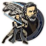 Luke and Rey Pin