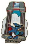 Stitch greece pin
