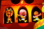Three Caballeros It's a Small World