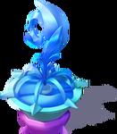 D-frozen fountain