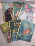 Disney princess collection books
