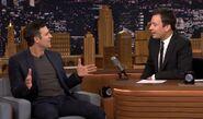 Mark Ruffalo visits Jimmy Fallon